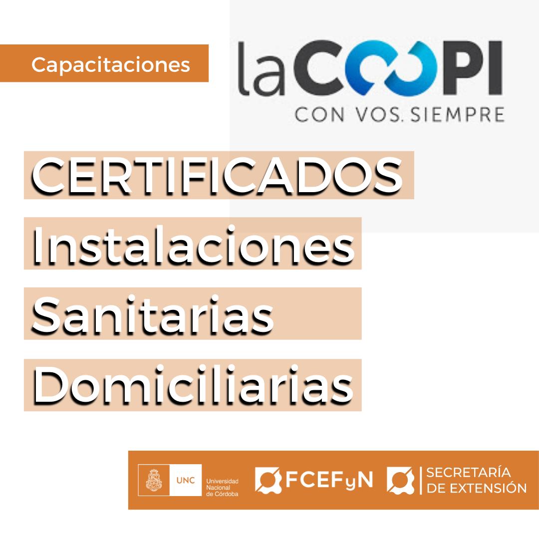 Certificados Instalaciones Sanitarias Domiciliares