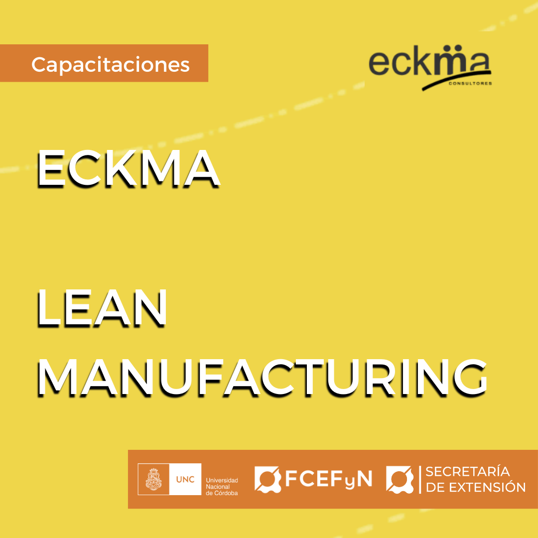 CERTIFICADOS ECKMA - LEAN MANUFACTURING