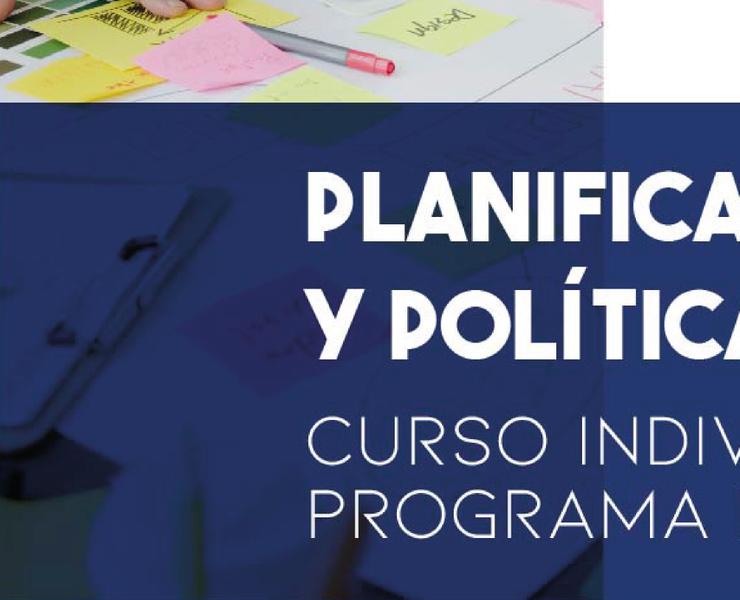 Planificación Estratégica y Políticas Públicas
